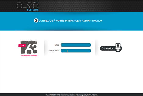 Clyo Restaurant et site web d'e-commerce et de prise de commande