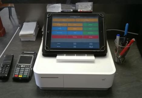 La caisse tactile Melkal pour iPad