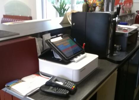 Caisse tactile iPad pour restaurant