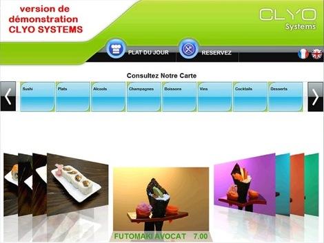 Clyo E-menu