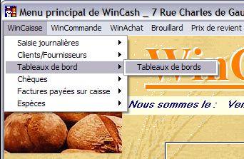 Logiciel de Caisse pour boulanger wincash