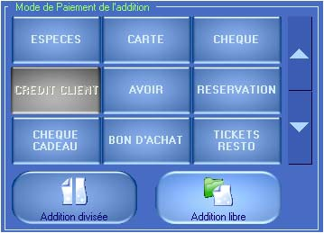 Bar Resto d'HT-Soft : Additions libres ou divisées - Repas d'affaires (4) -- 09/02/06