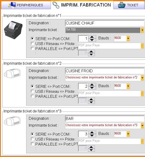 Logiciel De Restaurant Easy Resto Gestion Des Imprimantes De - Logiciel gestion cuisine