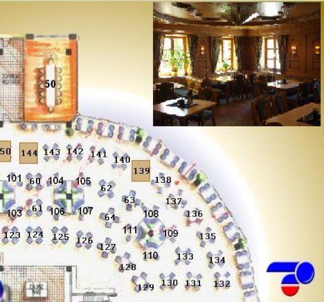 euresto: plan de salle graphique