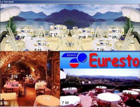 réservation des tables dans euresto