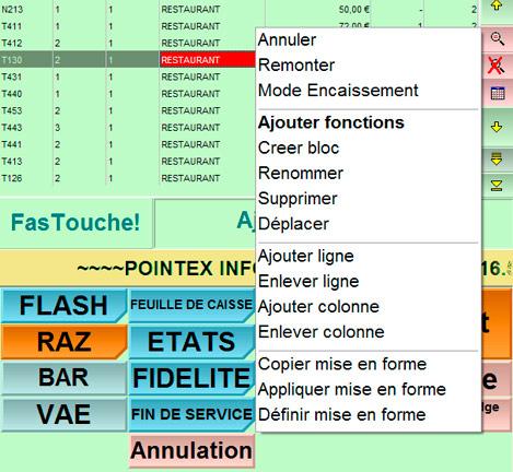 FirstClass: reconfiguration du pavé tactile
