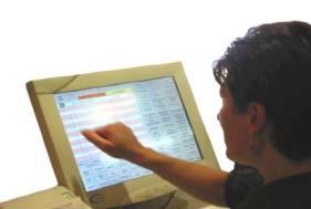logi'class sur une caisse TPV tactile