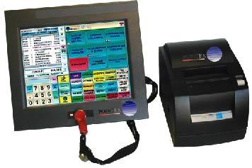 Logiciel de caisse pour restaurant Pointex avec imprimante-ticket thermique