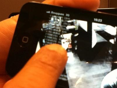 CSI DVR C.H.R. sur iPhone
