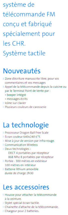 Télécommande CSI French Touch