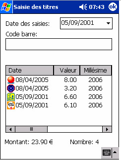 TickEdit Pocket PC