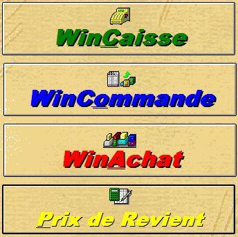 menu principal de wincash